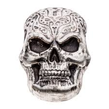 Celtic Skull - beaver bullion limited edition silver celtic skull 10 oz 999
