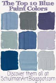 Different Names Of Green by Different Colors Of Blue Paint Interior Painting