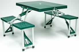 Portable Folding Picnic Table Folding Picnic Table And Chairs Agreeable Aluminium Portable Set