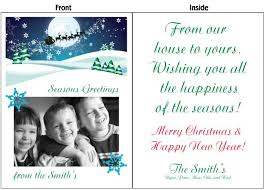 personalized christmas cards christmas cards 4 foot christmas cards
