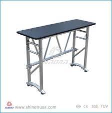 Dj Desk China Dj Furniture Aluminum Portable Folding Table Dj Desk