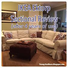 Ektorp Corner Sofa Bed by Young U0026 Southern Review Ikea Ektorp Sectional After 4 Years Of
