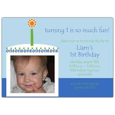 birthday cake boy photo 1st birthday invitations paperstyle