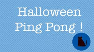 party games for halloween adults halloween ping pong halloween party games for kids and adults