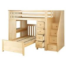 Bunk Bed With Desk And Dresser Plank Beam Staircase Combo Loft Bed Desk Dresser Bed