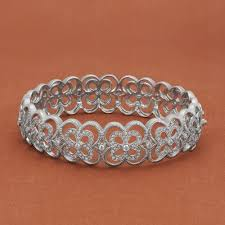 cuff bracelet jewelry images Leslie greene 18kwg patina emilia diamond cuff bracelet designer jpg