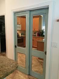 Indoor Closet Doors Vintage Door With Mirror For Closet My Bedroom Pinterest