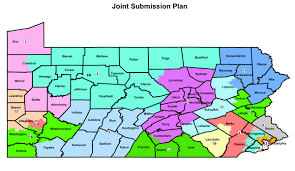 the map top republicans in pa house senate submit congressional map to