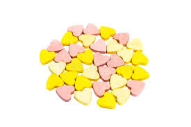 s day candy hearts heart shaped healthcare pills on white background stock photo