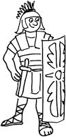 roman cartoons clip art 36