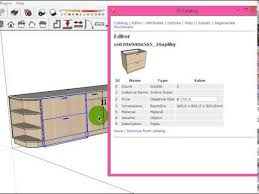 3e catalog bill of material for sketchup youtube