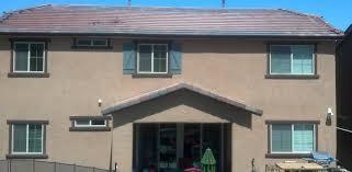 terra cotta solar on multi color roof