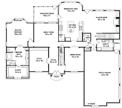 single floor home plans two story home plans with open floor plan story bedroom house