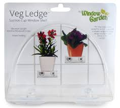 amazon com window garden veg ledge suction cup window shelf