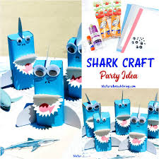 the sea party ideas shark craft a the sea party idea living