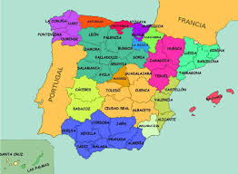 Map Of Spain by Physical Map Of Spain