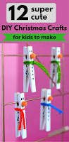 12 super cute diy christmas crafts for kids to make zoomzee org