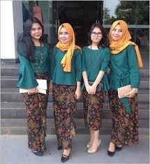 fashion terbaru 16 best model baju batik kebaya terbaru images on