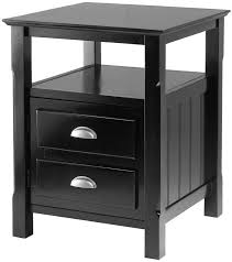 Black Wood Nightstand 62 Best Nightstands Tables Images On Pinterest Nightstands