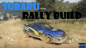 subaru rally drift forza horizon 2 subaru impreza rally build youtube