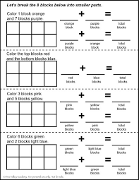 number bonds to 8 free math worksheets
