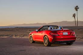 convertible mercedes red 2017 mercedes benz slc class reviews and rating motor trend