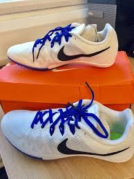 nike zoom m rival trainers running shoes with spikes size 9 bnib