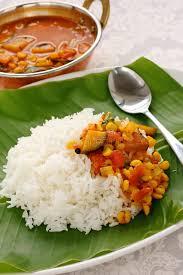 cuisine indienne riz sambar et riz cuisine indienne du sud photo stock image du inde