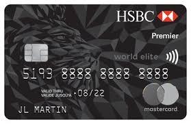 elite debit card the new hsbc premier world elite mastercard has what canadians