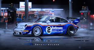 widebody porsche 928 rwb porsche 918 rendering is excellent enough to think someone