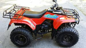 kawasaki 300 bayou 4x4 motorcycles for sale