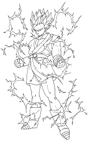 coloriages dragon ball z 4 dragon ball z coloring pages