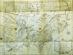 Map Of The Western States 1785 to 1789 pennsylvania maps