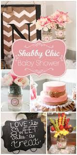 shabby chic vintage glam bridal wedding shower