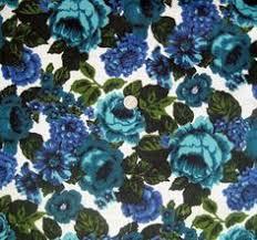 Vintage Floral Upholstery Fabric Vintage Mod Floral Upholstery Fabric Jewel Tones An Original