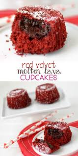 red velvet molten lava cupcakes crazy for crust