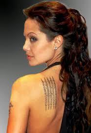 12 angelina jolie tattoos