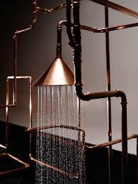 Re Imagined Bath Fixtures Front And Nendo Design Milk Copper Copper Bathroom Fixtures