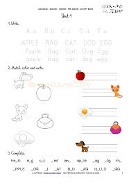 printable beginner esl pre junior worksheet 1 alphabet