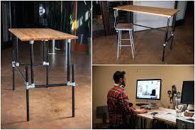 Diy Standing Desk Standing Desk Simple Adjustable Standing Desk Diy