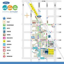 Michigan Casino Map by Event Map U2014 Ford Arts Beats U0026 Eats