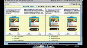 Pa Power Of Attorney Form Free by Power Of Attorney Form Massachusetts Youtube