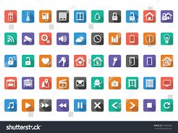 home automation smart home icon setvector stock vector 214641640