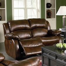 Top Grain Leather Reclining Sofa Sofa Grey Leather Reclining Sofa Set Top Grain Leather Reclining