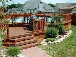backyard deck design ideas 1000 ideas about outdoor decking on