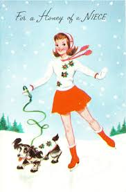 389 best vintage christmas cards and illustration images on