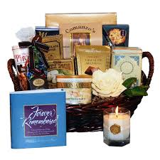 bereavement gift ideas funeral gift baskets bouquet dreams light faith s