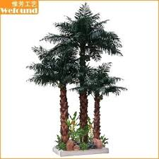 artificial palm trees mall decoration tree for sale shopping