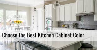 how to choose kitchen cabinets color style guide what color should i get my kitchen cabinets in