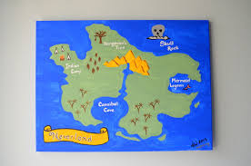Neverland Map Baby Style Peter Pan Nursery Cozy Reverie